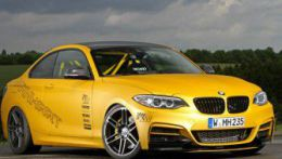BMW M235i Coupe Manhart Racing